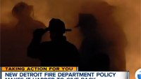 New Detroit fire dept. policy puts restrictions on donations