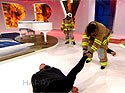 Va. firefighter challenges actor to fitness test