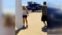 Boy, 6, starts helicopter at air show; 2 hurt