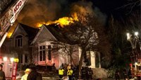 Mo. firefighter burned in mayday at house fire