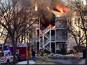 Multi-story Fire with Limited Access