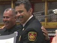 Runner thanks firefighters, medics who saved him