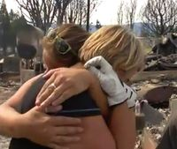 Firefighters find wedding rings in burned down house