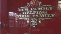 Firefighters told to remove decals from fire trucks