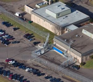 This Dec. 10, 2015 aerial file photo, shows Lincoln Hills juvenile prison in Irma, Wis. (Mark Hoffman /Milwaukee Journal-Sentinel via AP, File)